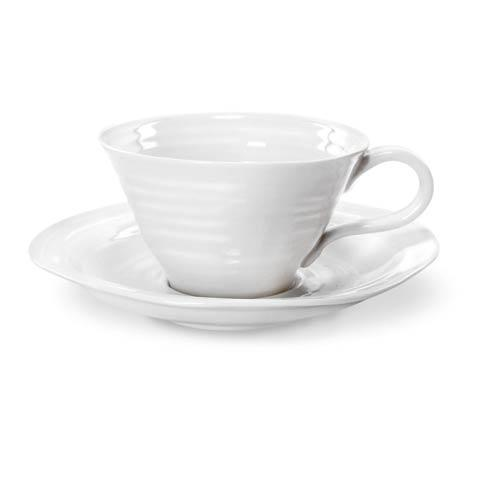 Portmeirion  Sophie Conran White Set of 4 Teacups and Saucers $70.40