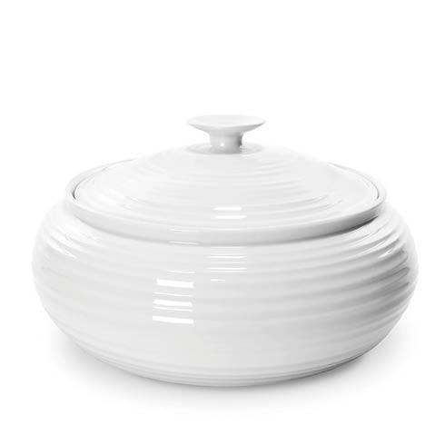 Portmeirion  Sophie Conran White Low Covered Casserole $47.00