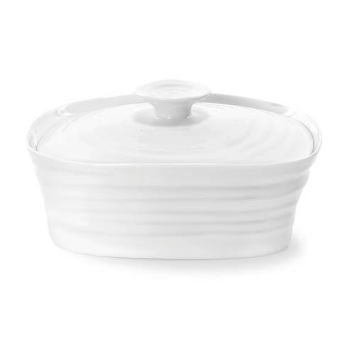 Portmeirion  Sophie Conran White Covered Butter $17.60