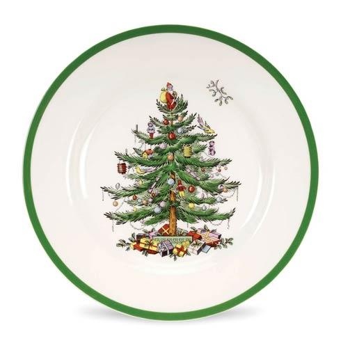 Spode Christmas Tree  Dinnerware/Entertaining Dinner Plate Set of Four $84.00