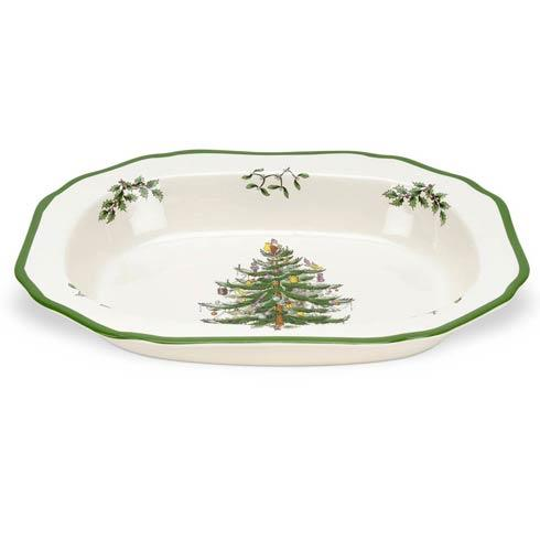 Spode Christmas Tree  Serveware/Giftware Open Vegetable Dish $47.50