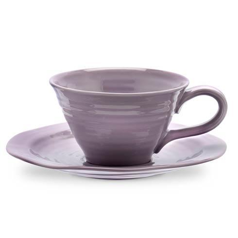 Set of 4 Teacups and Saucers