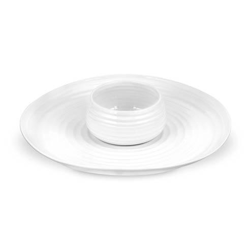 Portmeirion  Sophie Conran White 2-piece Chip and Dip $50.00