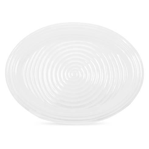 Portmeirion  Sophie Conran White Oval Turkey Platter $125.00