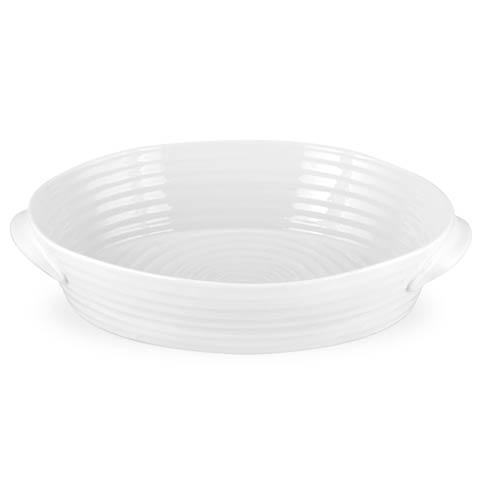 Portmeirion  Sophie Conran White Large Handled Oval Roasting Dish $49.00