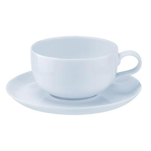$79.98 12 oz Tea Cup and Saucer - Set of 2