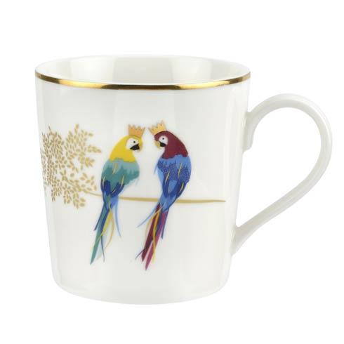 $9.99 12 oz Mug Posing Parrots