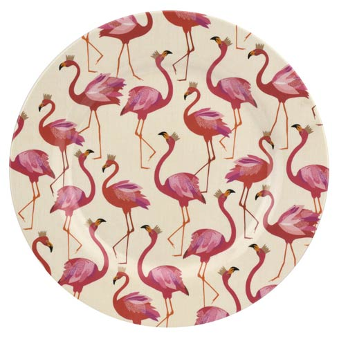 $39.99 11 Inch Melamine Dinner Plates - Set of 4