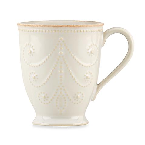 French Perle White Mug