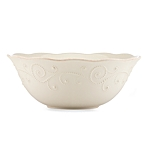 French Perle White serving bowl collection with 1 products