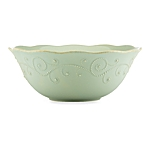 $64.00 French Perle Ice Blue serving bowl