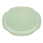 $64.00 French Perle Ice Blue oval platter