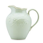 $54.00 Lenox French Perle Ice Blue Med. Pitcher