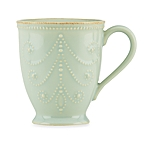 $20.00 French Perle Ice Blue Mug