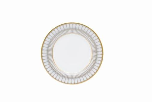 $85.00 Arcades Gray and Gold dessert Plate