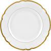 $155.00 Robert Haviland Collette Gold dinner Plate