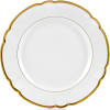 $155.00 Robert Haviland Collette Gold dinner Plate