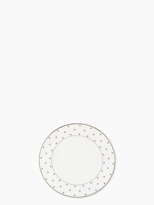 Kate Spade   Kate Spade Larabee Road Gold accent plate $55.00