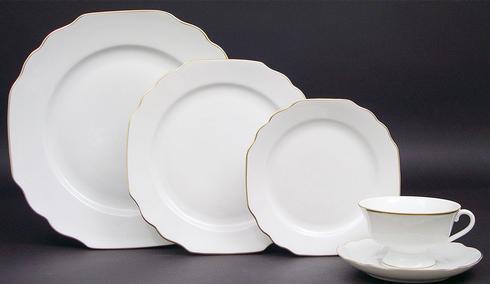$80.00 Pickard Georgian Dinner plate monogrammed
