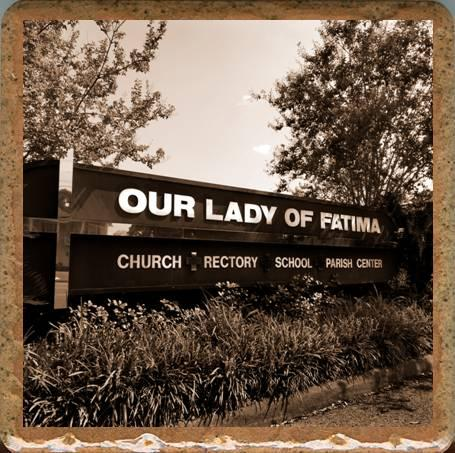 Pieces of Eight Exclusives Louisiana Favorites Louisiana Must Haves Our Lady of Fatima Coaster $9.95