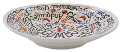 Pieces of Eight Exclusives   Gumbo Bowl-Words $22.95