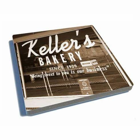 Pieces of Eight Exclusives   Coaster-Keller\'s Bakery $9.95