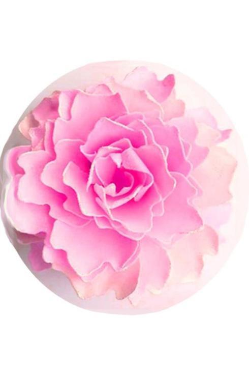 $39.95 Pink Patty Peony Flower Petal Soap