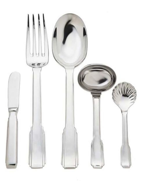 Art Deco 5 Piece Hostess Set collection with 1 products