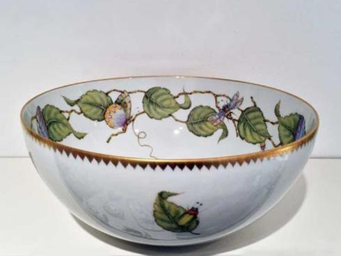 Pieces of Eight Exclusives   Midsummer Round Serving Bowl $295.00
