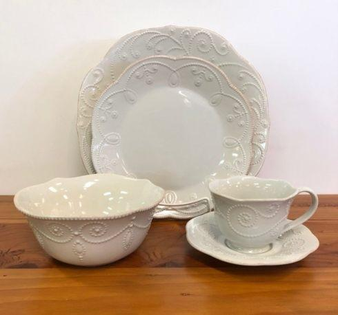 Pieces of Eight Exclusives   French Perle by Lenox Five Piece Place Setting $97.85