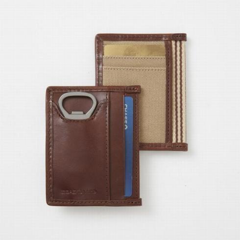 $39.95 Card Case/Bottle Opener Brown