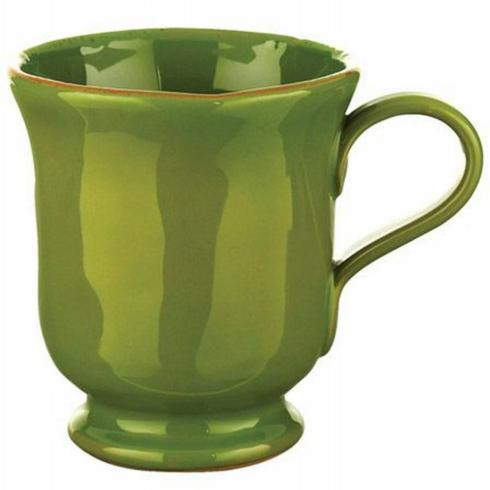 $19.99 Basilico Green Footed Mug