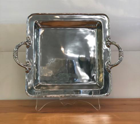 Pieces of Eight Exclusives   Soho David Dee Square Tray $158.00