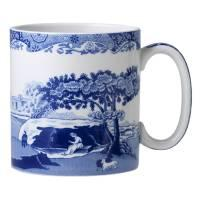 Pieces of Eight Exclusives   Blue Italian Small Mug-9 ounce $18.00