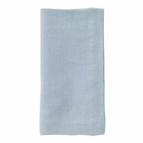 Pieces of Eight Exclusives   Riviera Napkin-Powder Blue $18.95