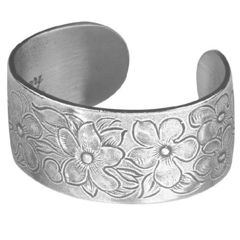 Pewter Flower Bracelet-February collection with 1 products