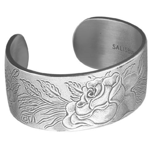 Pewter Flower Bracelet-June collection with 1 products
