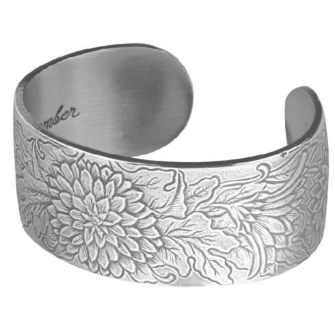 Pewter Flower Bracelet-November collection with 1 products