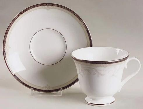 $28.99 Brocade Cup & Saucer-Discontinued