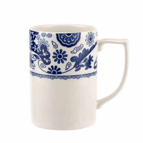 Pieces of Eight Exclusives   Blue Italian Brocato Mug $15.00