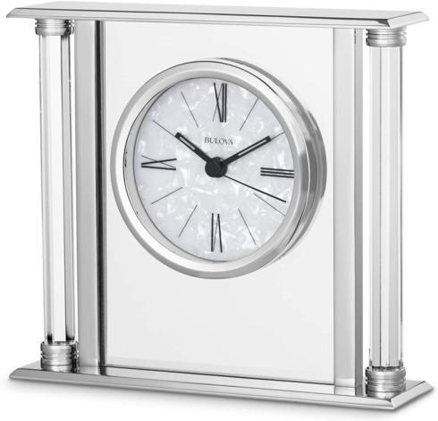 $98.00 Clock-Chrome