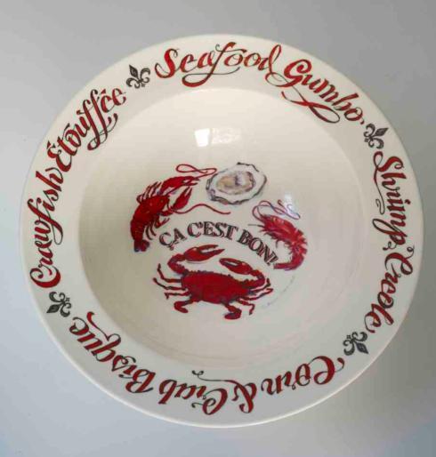Pieces of Eight Exclusives Louisiana Favorites Gumbo Ca C\'est Bon Gumbo Bowl $19.50