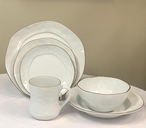 Cantaria White by Skyros 6 Piece Place Setting