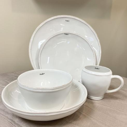 Fontana White 5 Piece Place Setting collection with 1 products