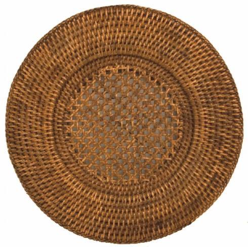 $22.95 Rattan Round Charger