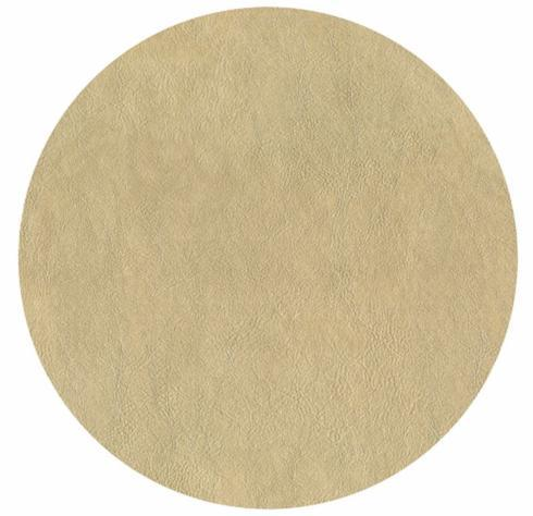 $14.95 Placemat-Round Gold