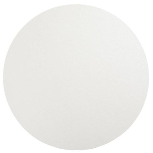 Caspari   Placemat-Round Luster Pearl $14.95
