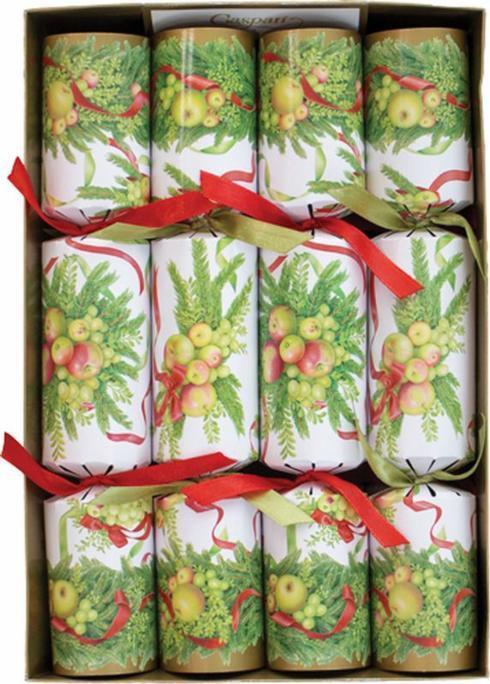 $20.95 Christmas Crackers-Apples & Greenery