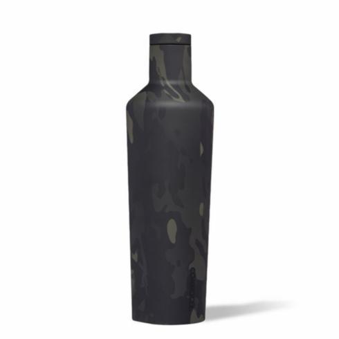 $42.00 Canteen 25 oz-Black Camo