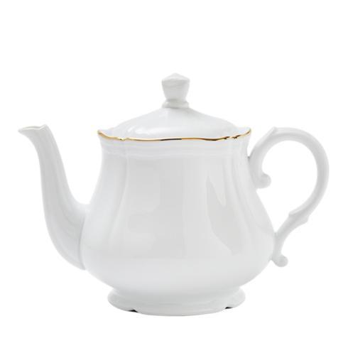 Pieces of Eight Exclusives   Corona Gold Teapot $250.00